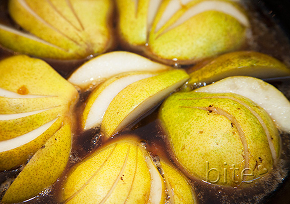 pear tarte tatin for Sara
