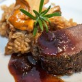 Venison Tenderloin with a Fig Merlot Reduction