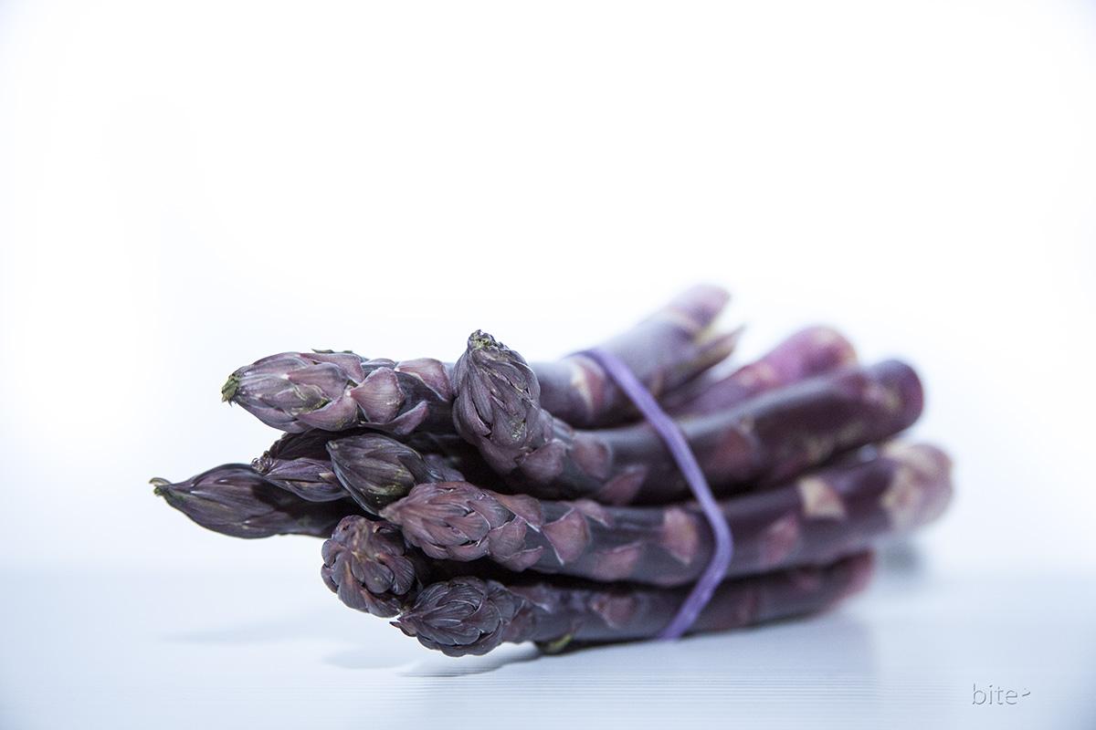 purple asparagus pancetta and gorgonzola tart – making it
