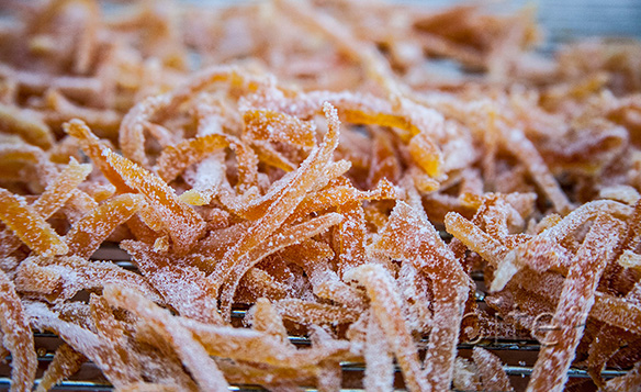 Candied Orange Peel Finished