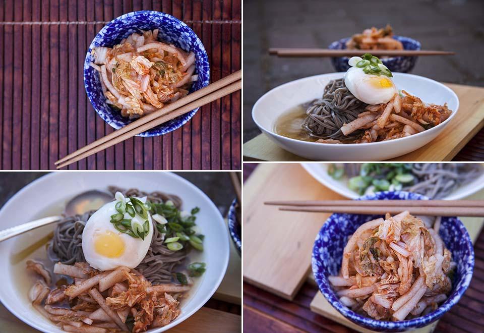 Kimchi Soba Noodle Soup