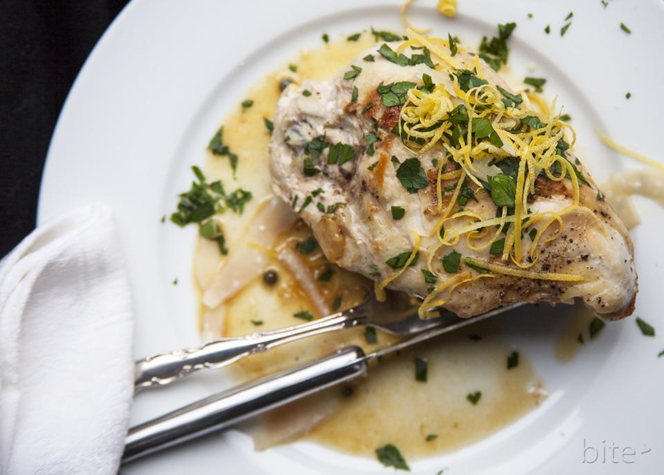 chicken piccata – a garlicky, lemony chicken dish