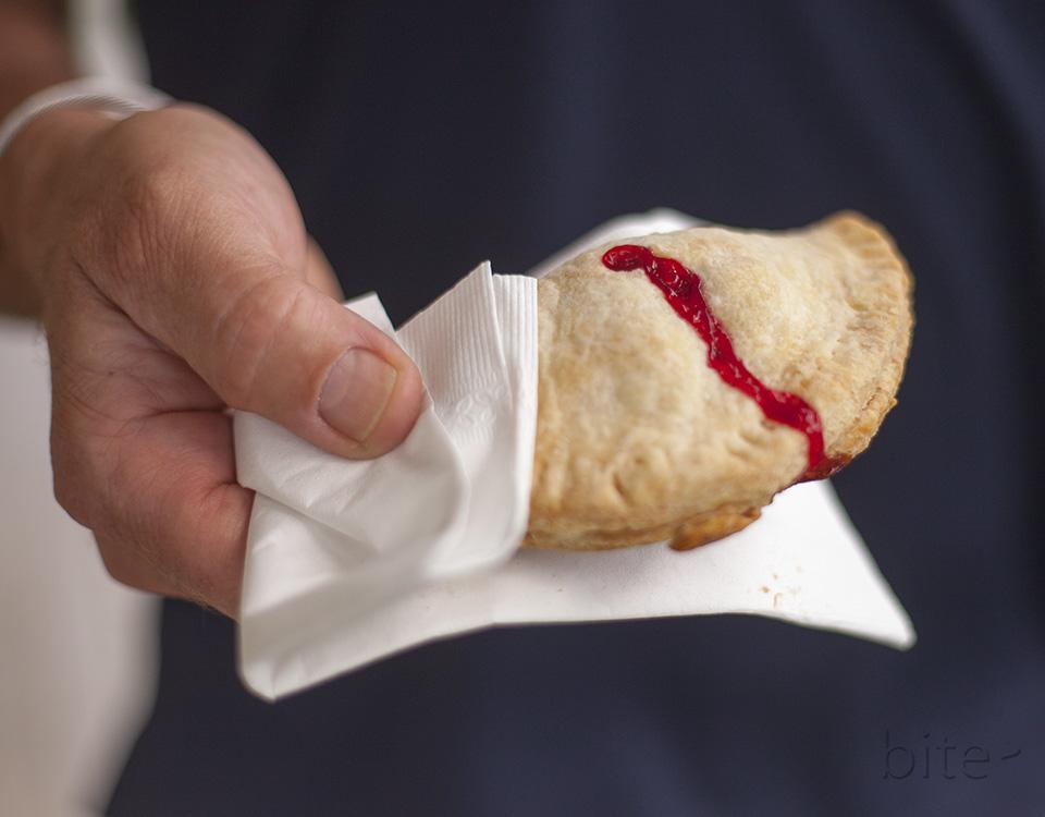 raspberry hand pie