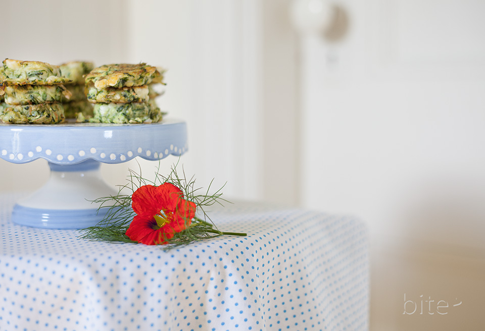 zucchini feta cakes