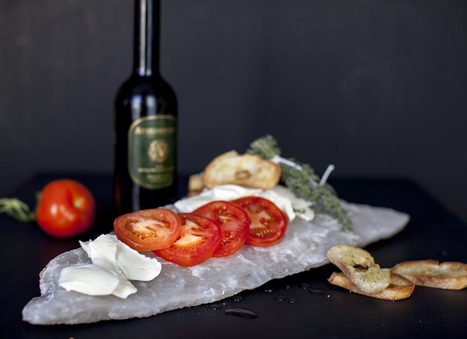 caprese salad on a salt lick / bitebymichelle.com