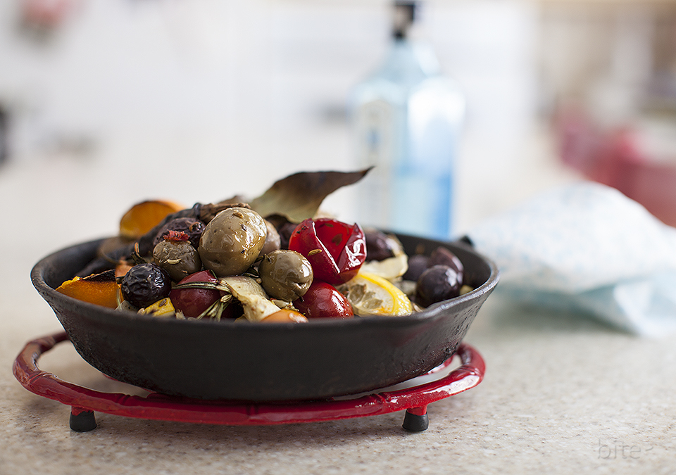 baked olive martini antipasto