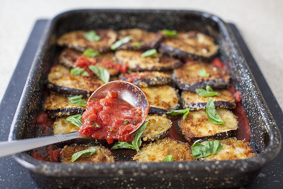 eggplant parm hero - carnivores beware!