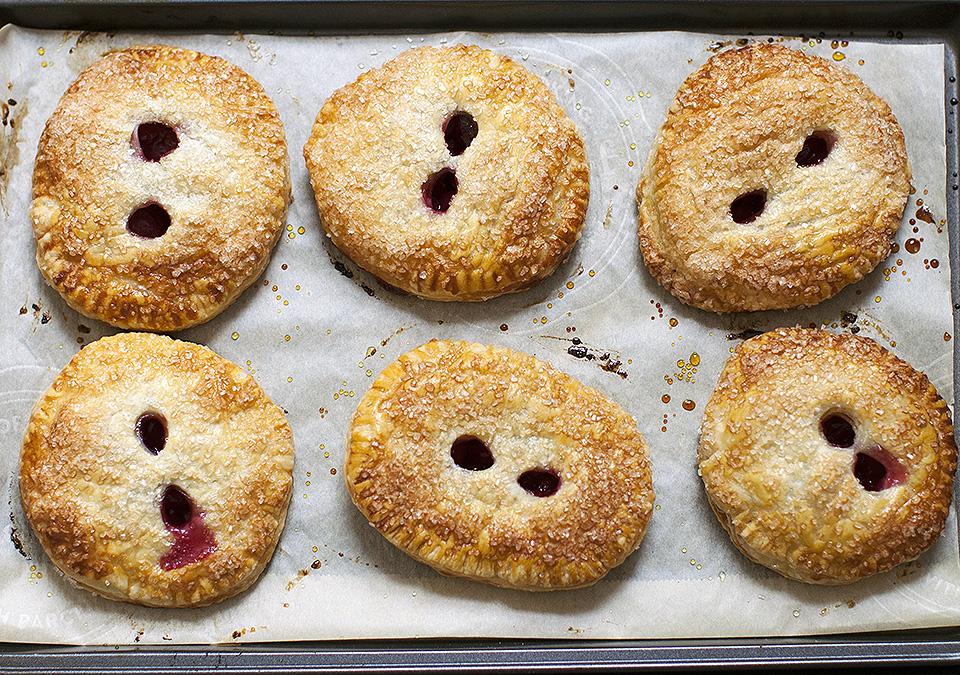 cherry hand pies - bring on summer - bite