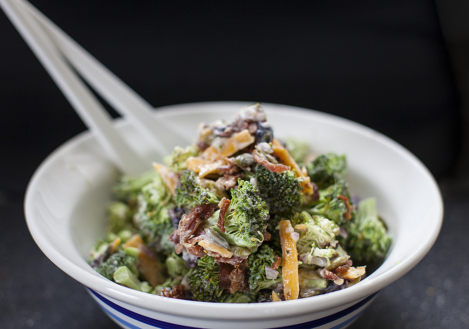BACON BROCCOLI SALAD - bitebymichelle.com