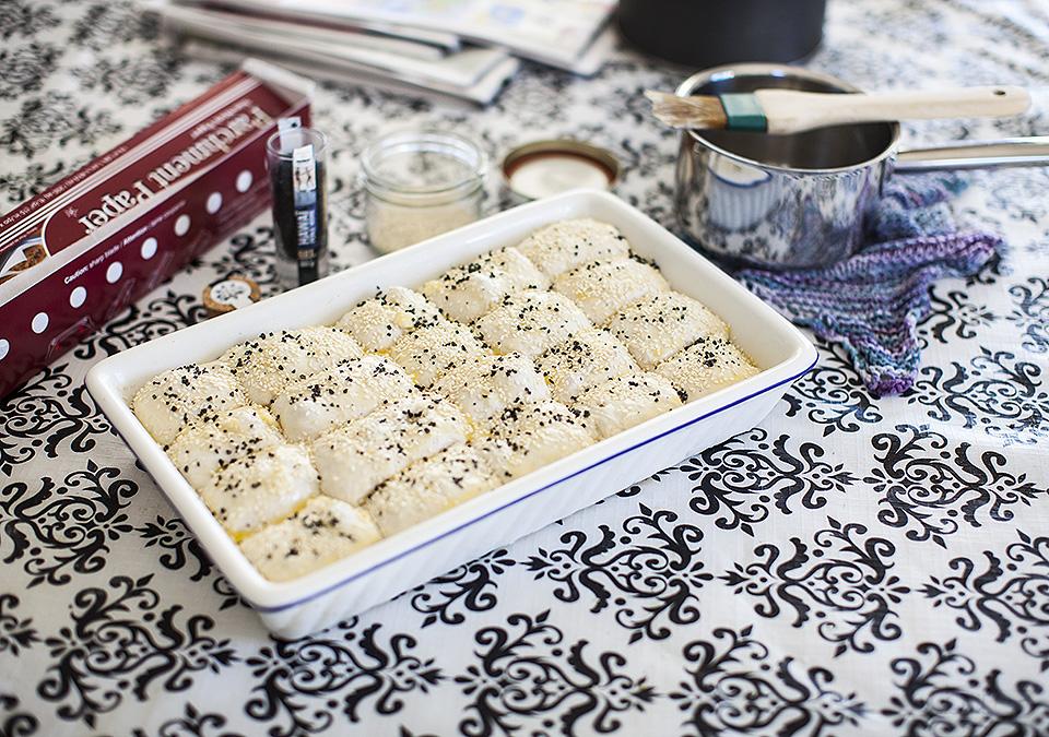 eggplant salad - confessions of a blogger l bitebymichelle.com