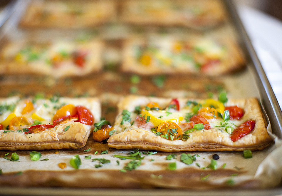 Pica de Gallo Open Faced Tarts l bite