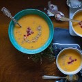 Butternut Squash and Hard Cider Soup i bitebymichelle.com