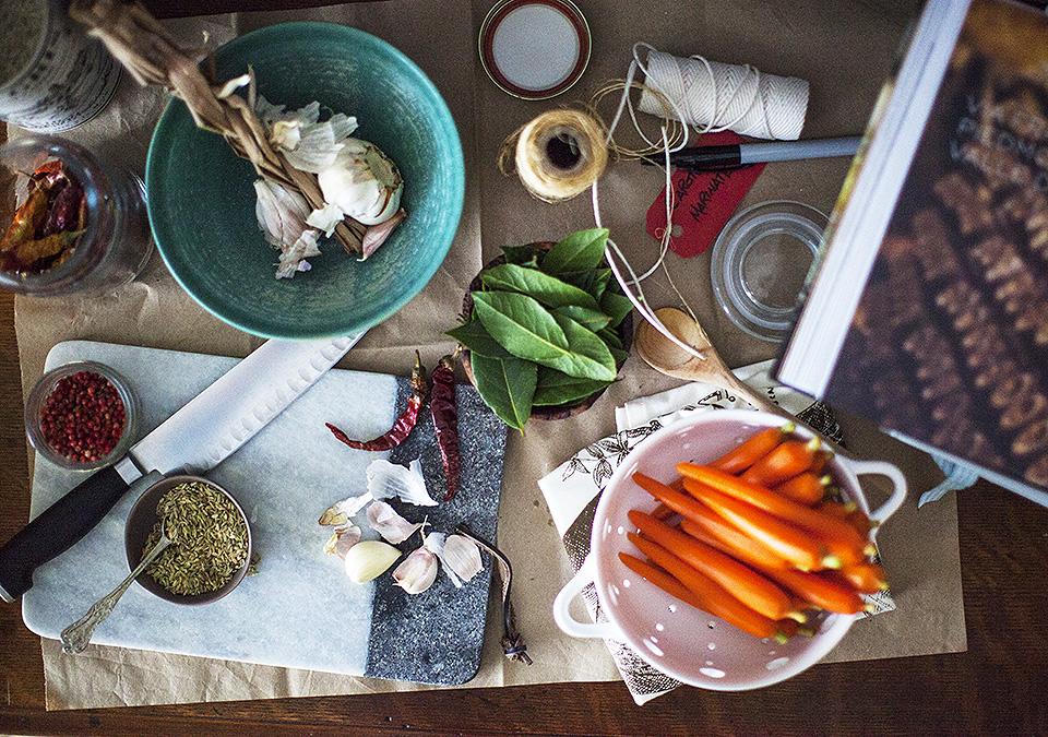 carrot antipasto – never say never