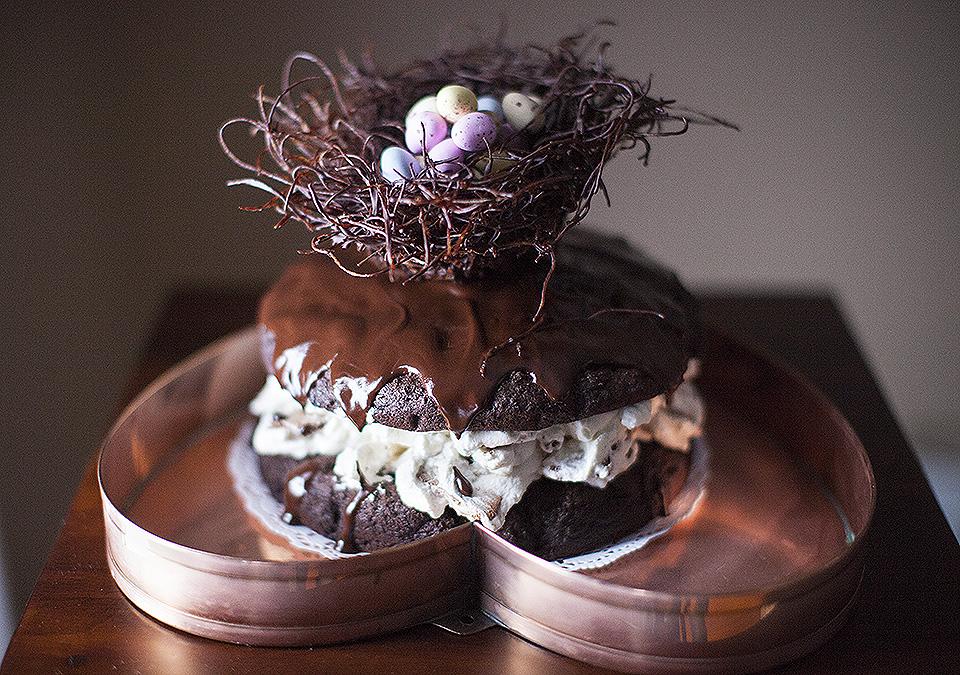 easter egg chocolate cake – I'm not super mom