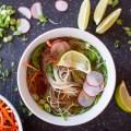 vegetarian pho - Vietnamese noodle soup l bitebymichelle.com
