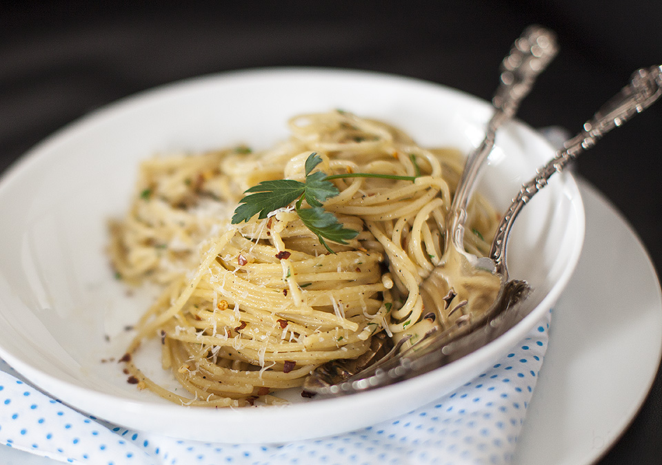 make a pasta dish out of nothing l bitebymichelle.com