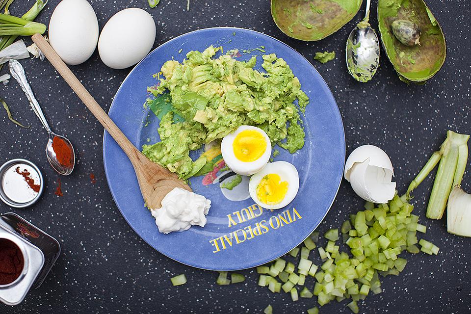 avocado egg salad - hold the tears l bitebymichelle.com