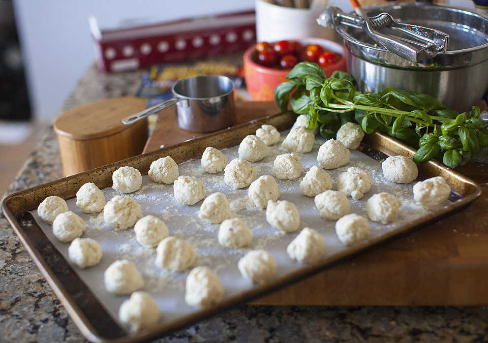 naked ravioli or 'gnudi' as they say in Italy – easier than you think