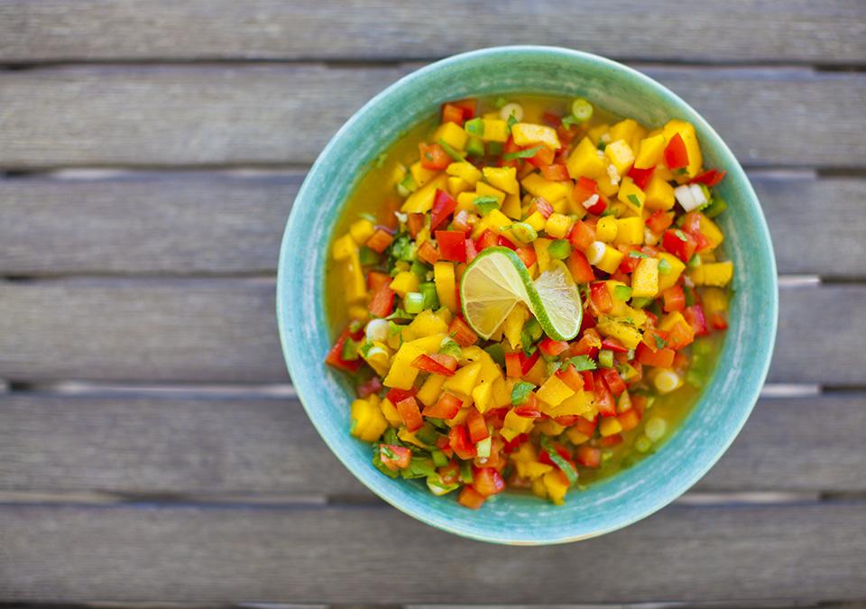 "summer salsa – perfect way to say ""hello summer"""