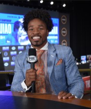 LAS VEGAS - JULY 17: Fox Sports' Shawn Porter at the final press conference for the PBC on Fox Sports Pay-Per-View at the MGM Grand on July 17, 2019 in Las Vegas, Nevada. (Photo by Frank Micelotta/Fox Sports/PictureGroup)
