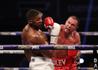 HANDOUT PICTURE COMPLIMENTS OF MATCHROOM BOXING Anthony Joshua vs Kubrat Pulev, IBF, WBA, WBO & IBO World Title. 12 December 2020 Picture By Mark Robinson