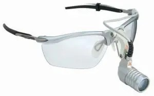 The Heine loupes with LED microlight