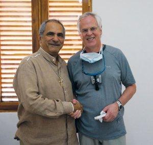 Dr Jose Ramos-Horta—former President of East Timor with Dr David Bladen