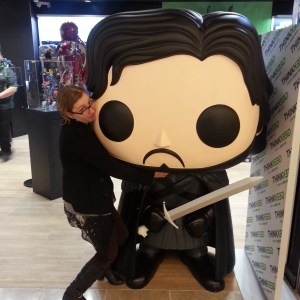Jon Snow Pop with Bitemefox
