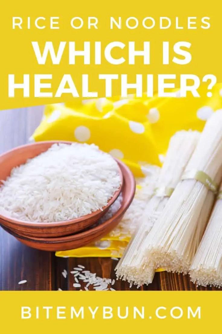 Pasta Vs Rice : pasta, Noodles:, Which, Healthier?, Carbs,, Calories