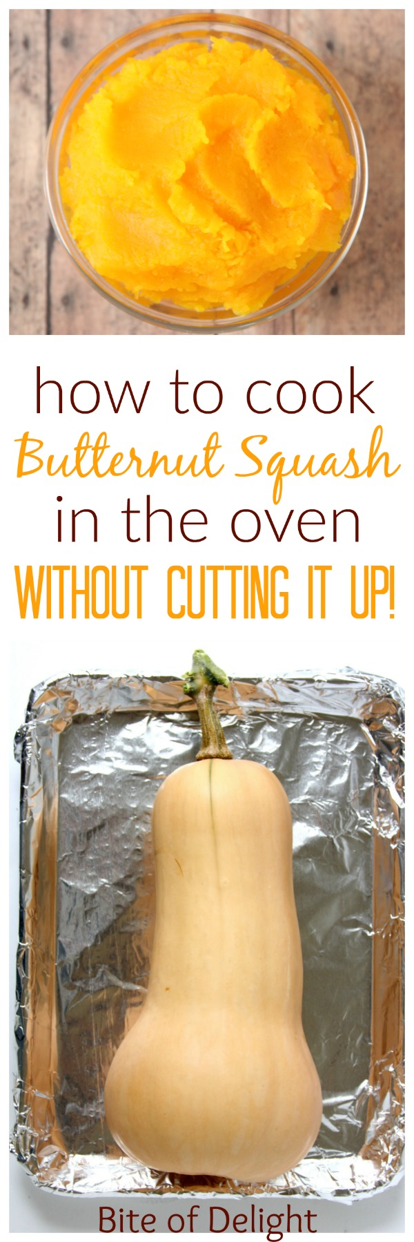 How to roast a whole butternut squash in the oven | Easy Recipe | Tutorial