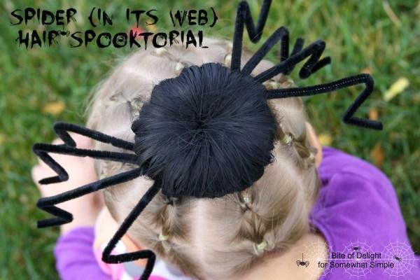 Spider Hair Spooktorial | Tutorial | Halloween Hair