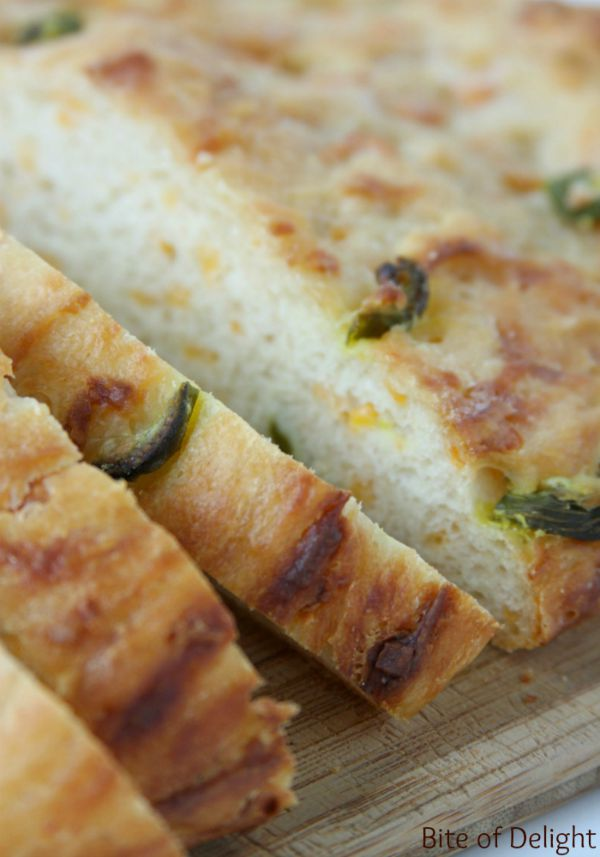 Cheddar Jalapeno French Peasant Bread | No Knead Bread Recipe