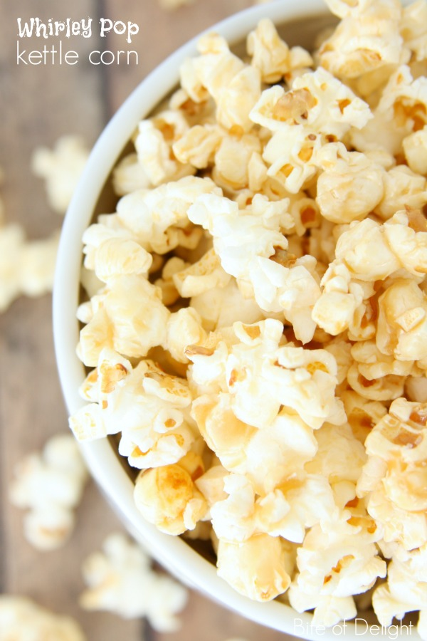 Whirley Pop Kettle Corn | simple recipe | treat