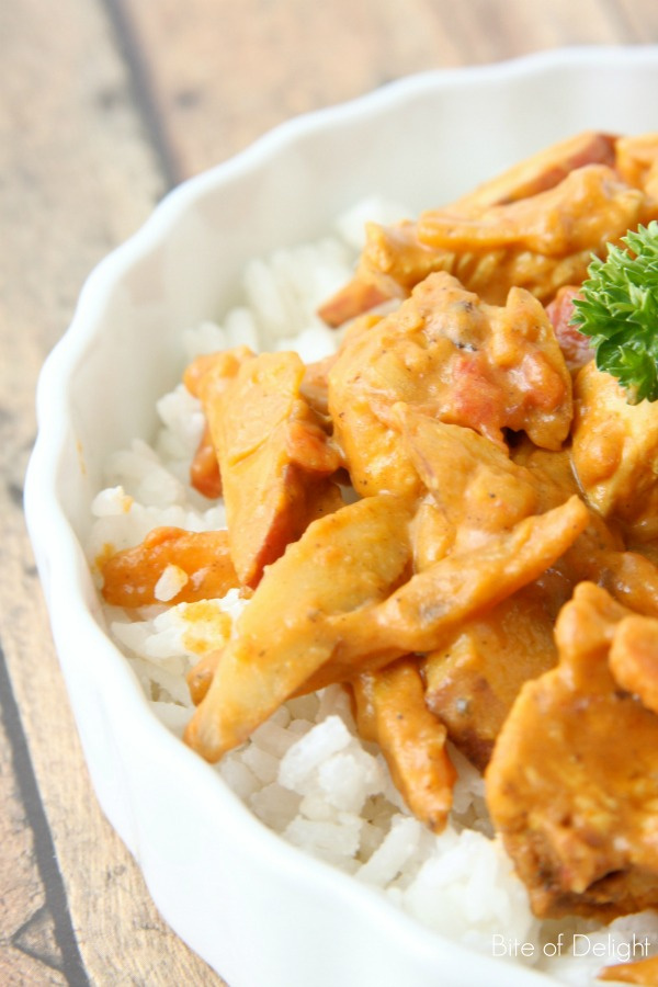 Easy Chicken Curry 4