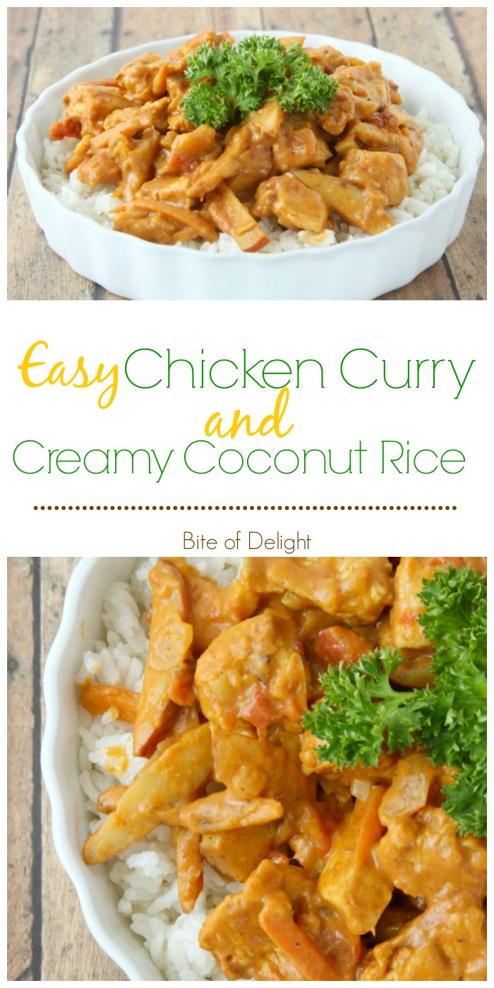 Easy Chicken Curry Pin