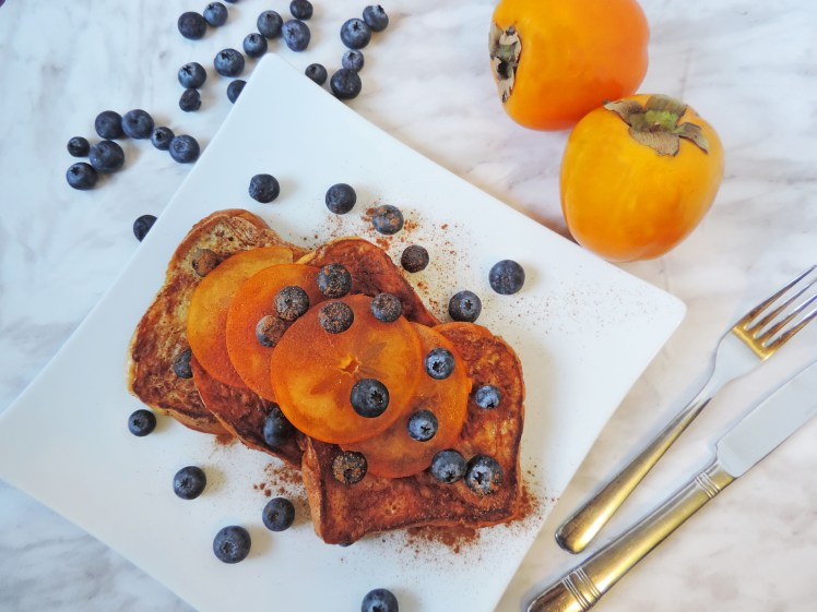 Persimmons Blueberry french toast 2