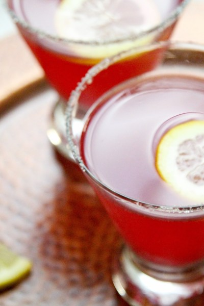 The Perfect Cranberry Lemon Drop Martini