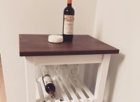 DIY Wine Cart using Ikea kitchen cart  Bite Sip Savour