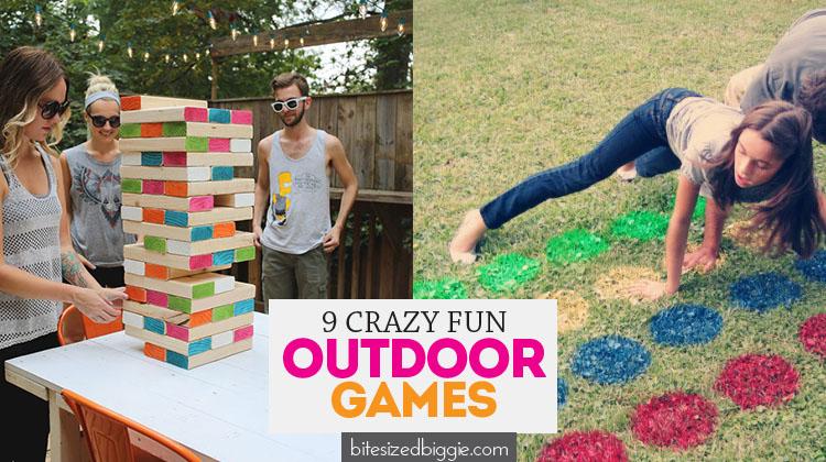 Fun Family Games Outside