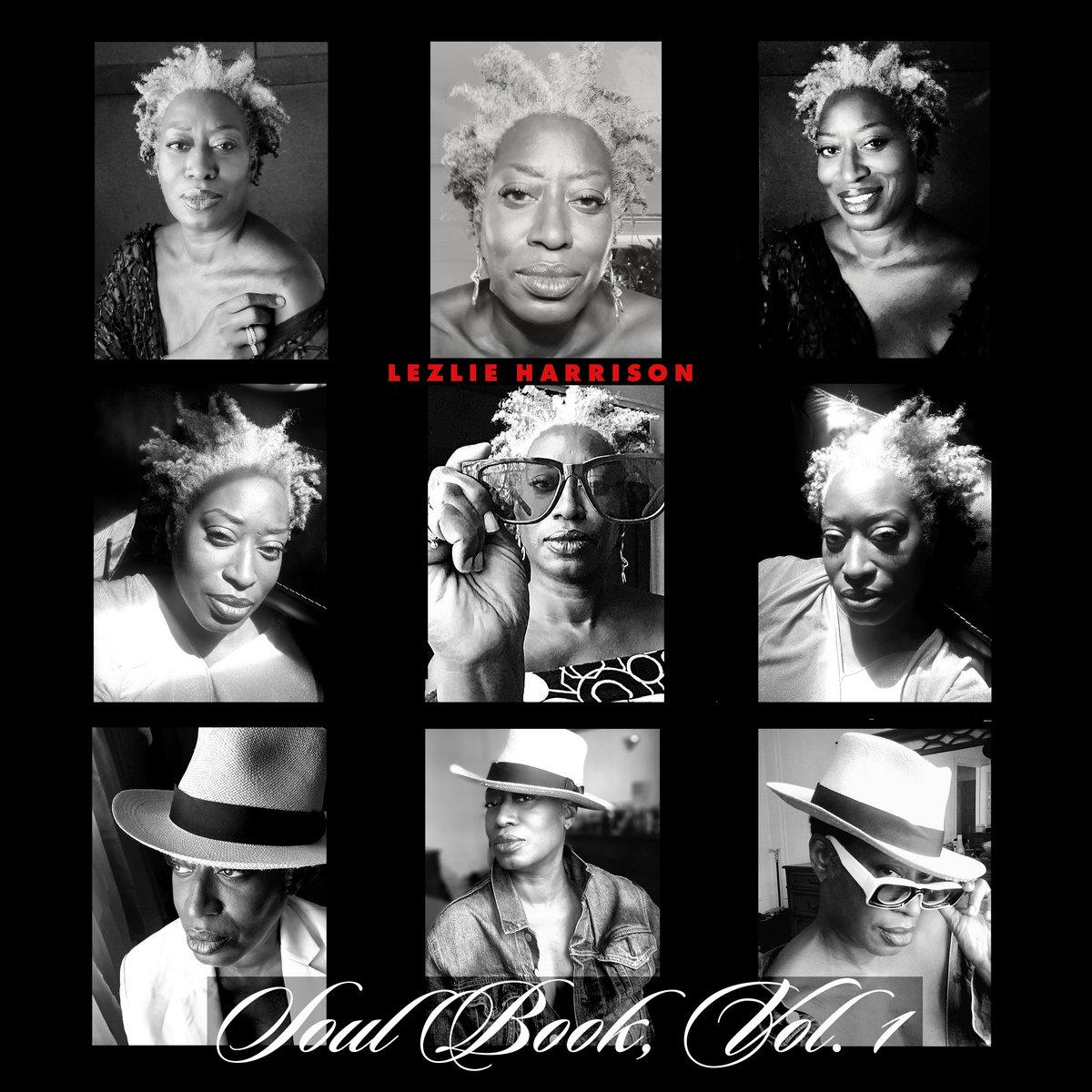 Cover Photo for Lezlie Harrison's new album Soul Book Vol. 1