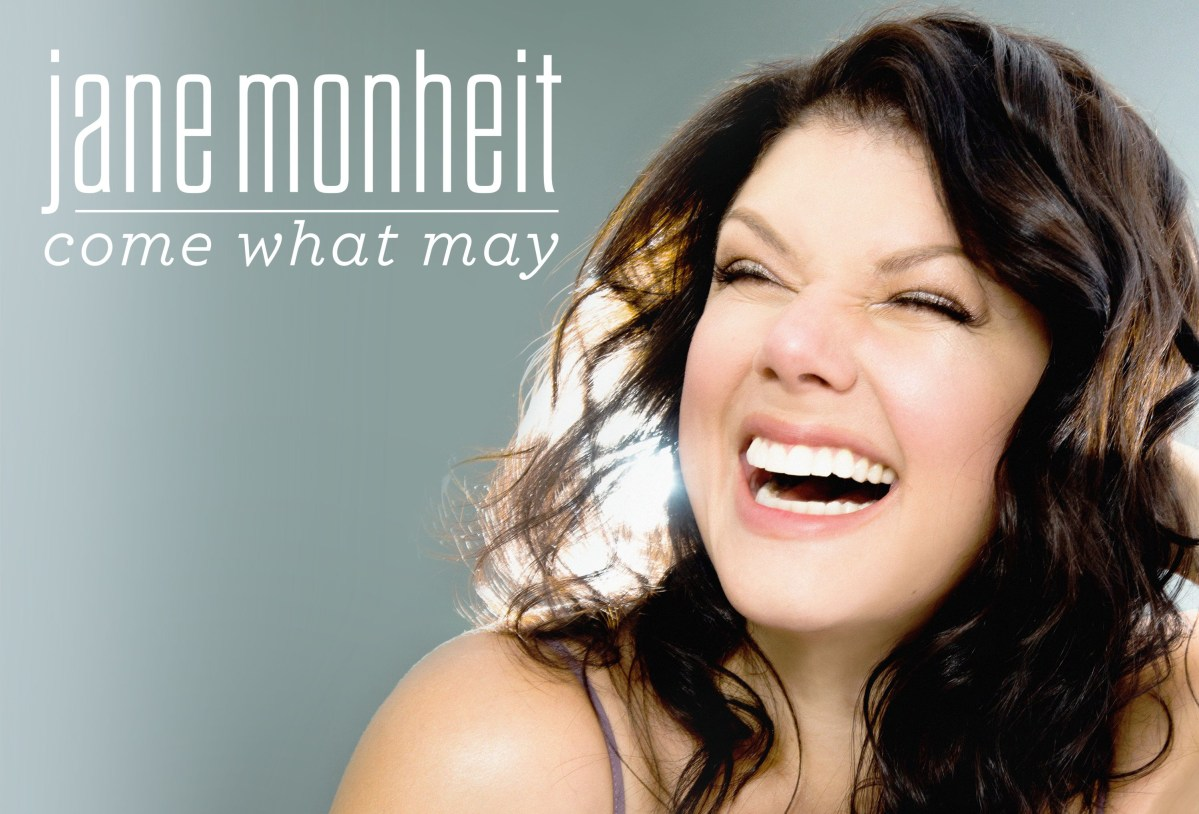 Cover Photo for Jane Monheit's new album Come What May