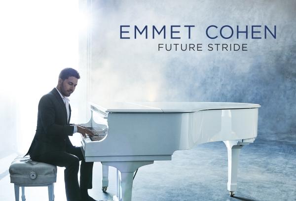 Cover Photo for Emmet Cohen's new album Future Stride