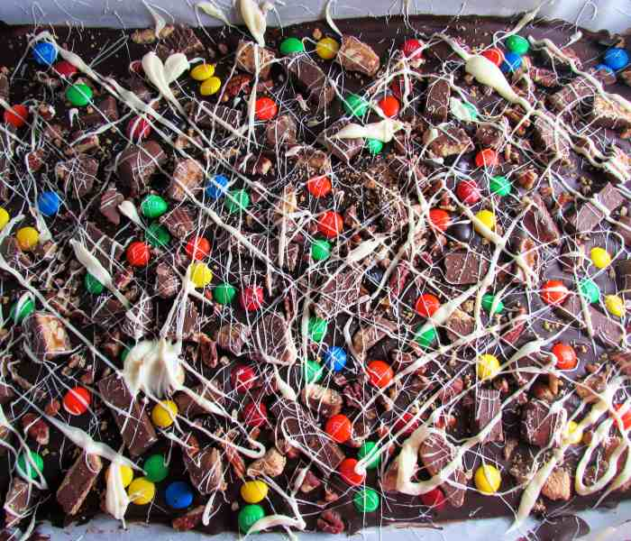 Chocolate Halloween Bark