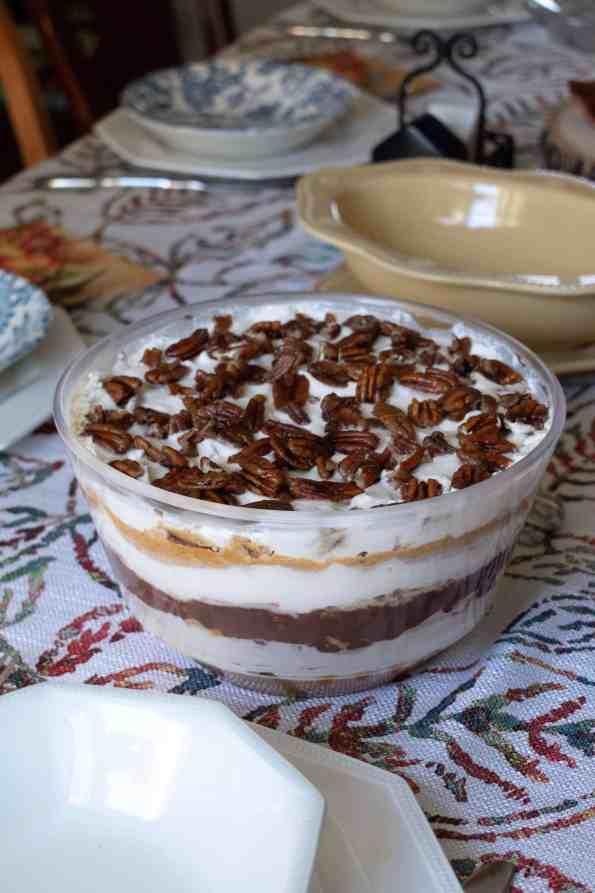pumpkin chocolate trifle