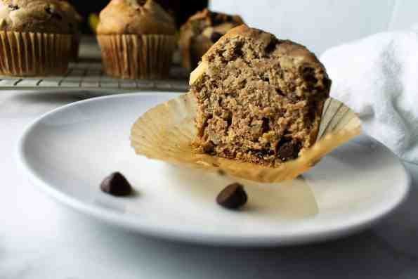 muffin with wrapper