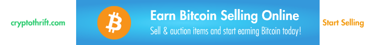 Earn free bitcoin by selling things online