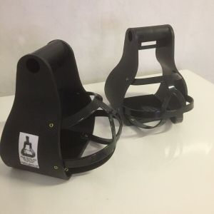 flex ride closed toe stirrups from Bitless Equestrian