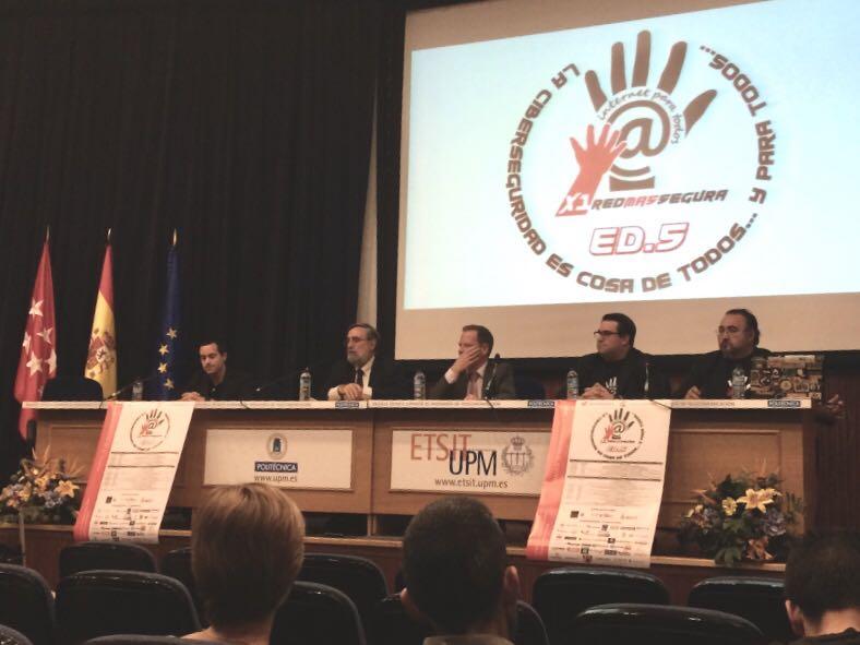 Evento Ciberseguridad X1redmassegura Madrid