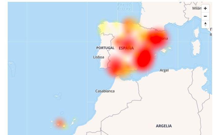 orange fallo españa internet caida