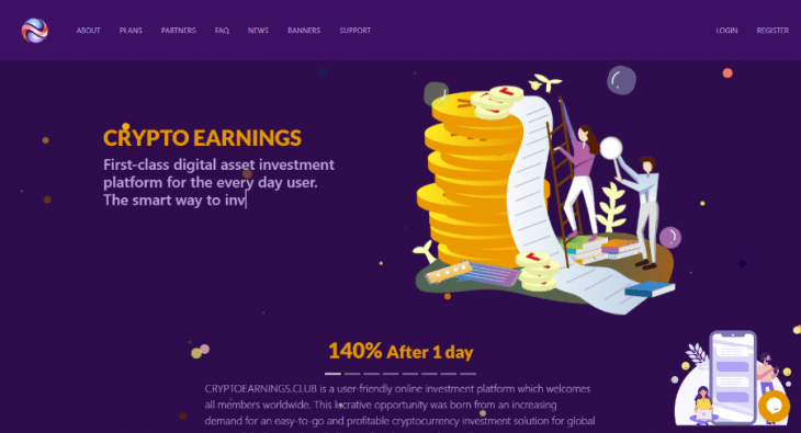 Cryptoearnings.club Review